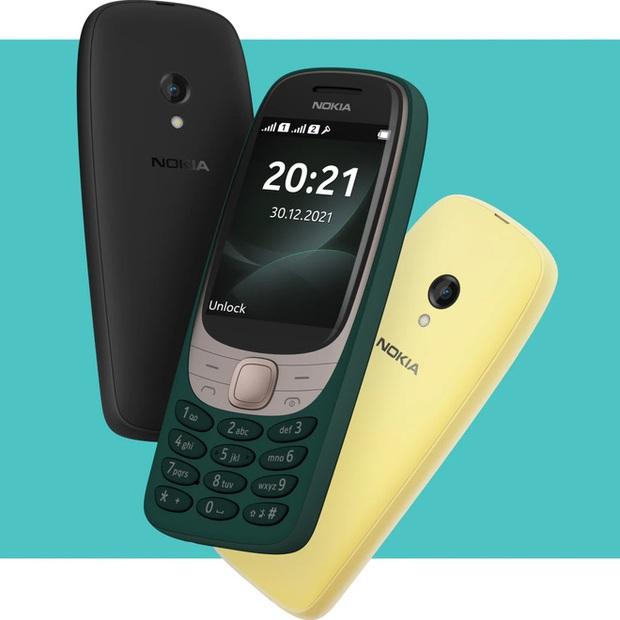 Nokia 6310 hồi sinh với thiết kế mới, giá 1,1 triệu đồng - Ảnh 1.