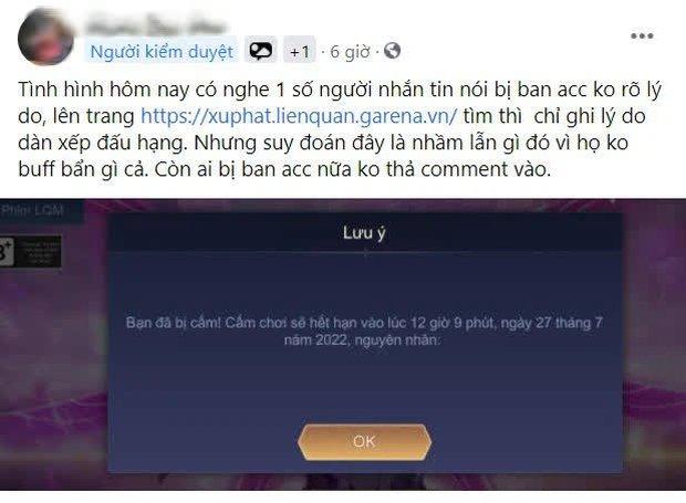 Liên Quân Mobile: Cộng đồng game thủ lên tiếng vì bị khóa tài khoản, Garena có quá mạnh tay xử lý gian lận? - Ảnh 1.