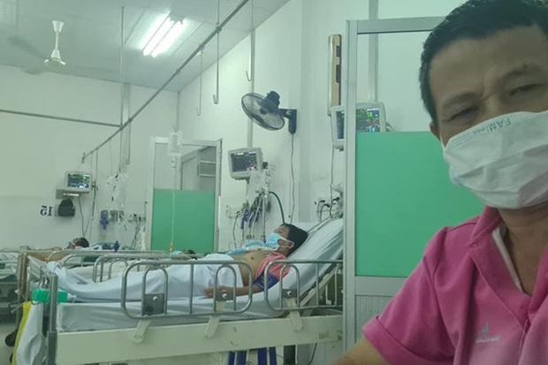 Diễn viên Lữ Đắc Long thông báo tình trạng hiện tại của cả gia đình sau thời gian điều trị Covid-19, phải dùng đến cả máy thở! - Ảnh 4.