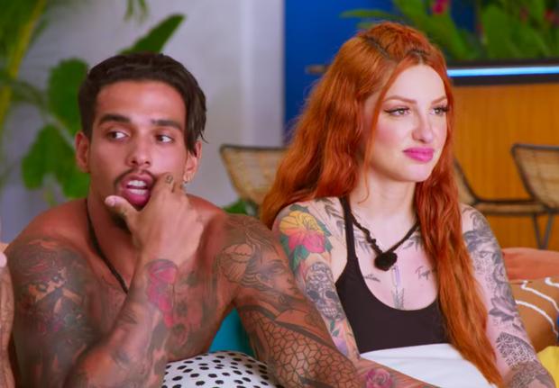 Vừa bị cấm sex, cặp đôi hot nhất Too Hot To Handle Brazil chia tay ngay và luôn! - Ảnh 1.