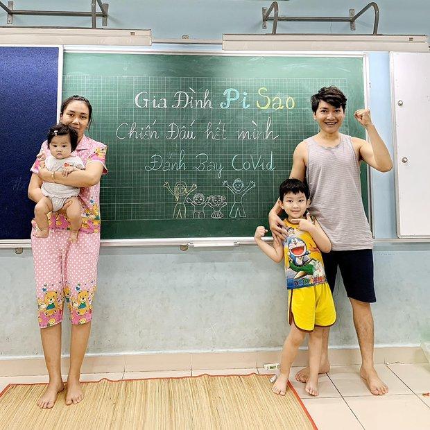 Vợ chồng diễn viên Minh Đức và 2 con nhỏ nhiễm Covid-19 - Ảnh 2.