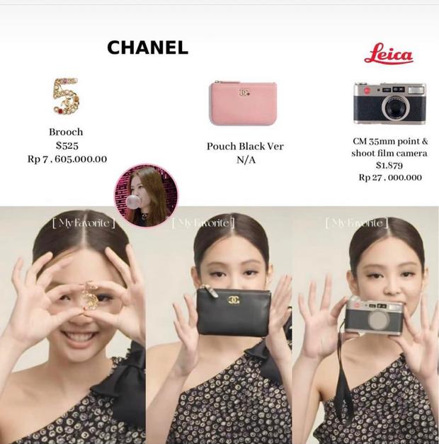 Jennie (BLACKPINK) khiến netizen choáng váng với bộ sưu tập máy ảnh siêu đắt đỏ - Ảnh 6.