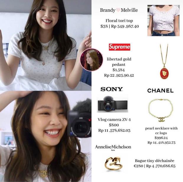 Jennie (BLACKPINK) khiến netizen choáng váng với bộ sưu tập máy ảnh siêu đắt đỏ - Ảnh 5.
