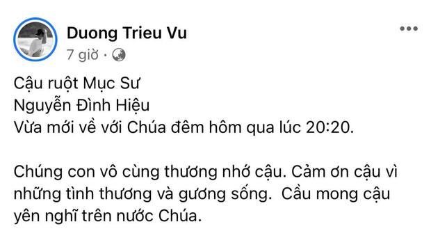Gia đình NS Hoài Linh xót xa nhận tin người thân qua đời giữa dịch, Nam Thư cùng dàn sao Việt đồng loạt chia buồn - Ảnh 2.