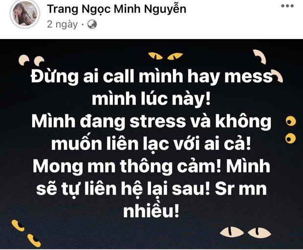 2 ngày trước thông báo ly hôn, Lương Minh Trang và Vinh Râu đồng loạt đăng status cực căng, chuyện gì đây? - Ảnh 3.