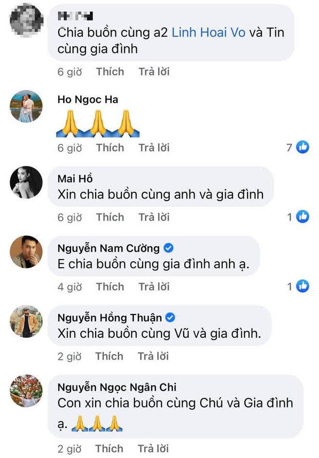 Gia đình NS Hoài Linh xót xa nhận tin người thân qua đời giữa dịch, Nam Thư cùng dàn sao Việt đồng loạt chia buồn - Ảnh 4.