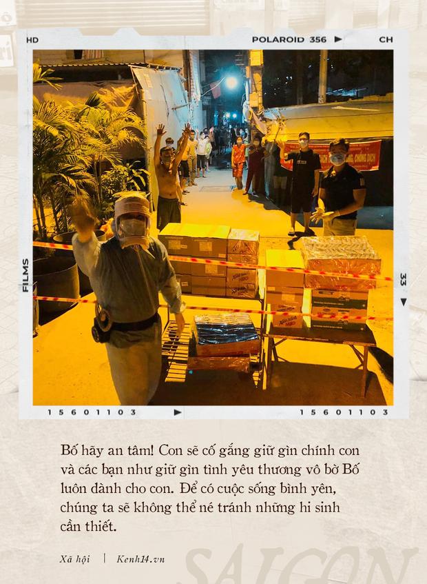 Thư gửi bố từ tâm dịch Sài Gòn: Nơi đây đã là nhà của con, và con sẽ vẫn thuỷ chung, sẽ hết mình với thành phố này chừng nào con còn thở - Ảnh 3.