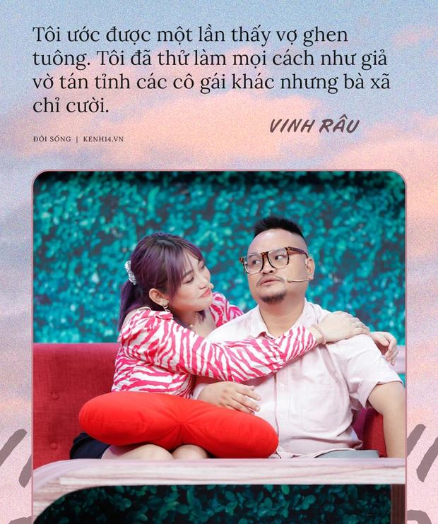 Vinh Râu rất ngôn tình: Làm thì yêu nghề, về thì yêu vợ - nhưng kết cục vẫn là ly hôn  - Ảnh 9.