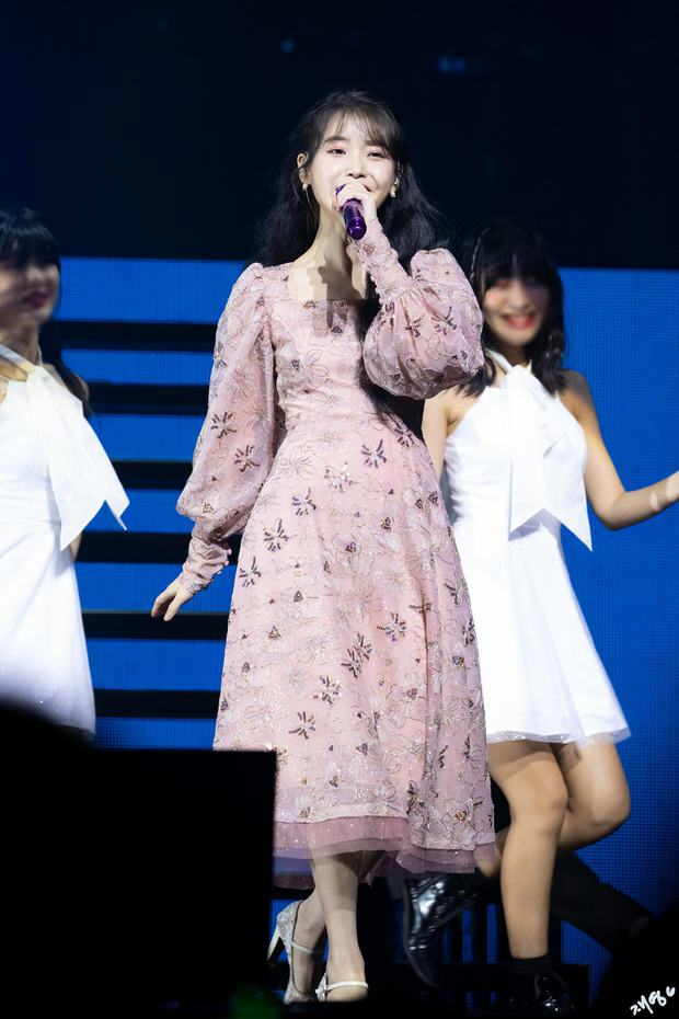IU từng bị chính khán giả của mình tấn công ngay tại sân khấu, fan xem mà xót xa: Idol cũng biết đau đấy ạ! - Ảnh 7.