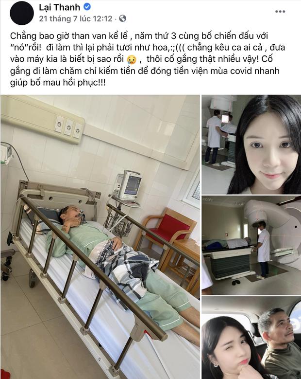 Bố qua đời sau thời gian chống chọi với bệnh ung thư phổi, Thanh Bi đau lòng không thể về nhà vì dịch Covid-19 - Ảnh 5.