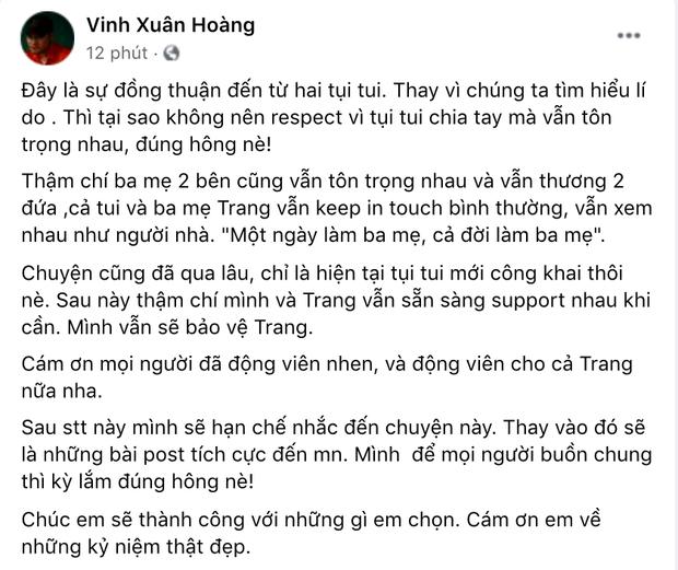 Giữa đêm, Lương Minh Trang buồn bã nói 1 câu gây chú ý sau khi công bố chuyện ly hôn Vinh Râu - Ảnh 4.