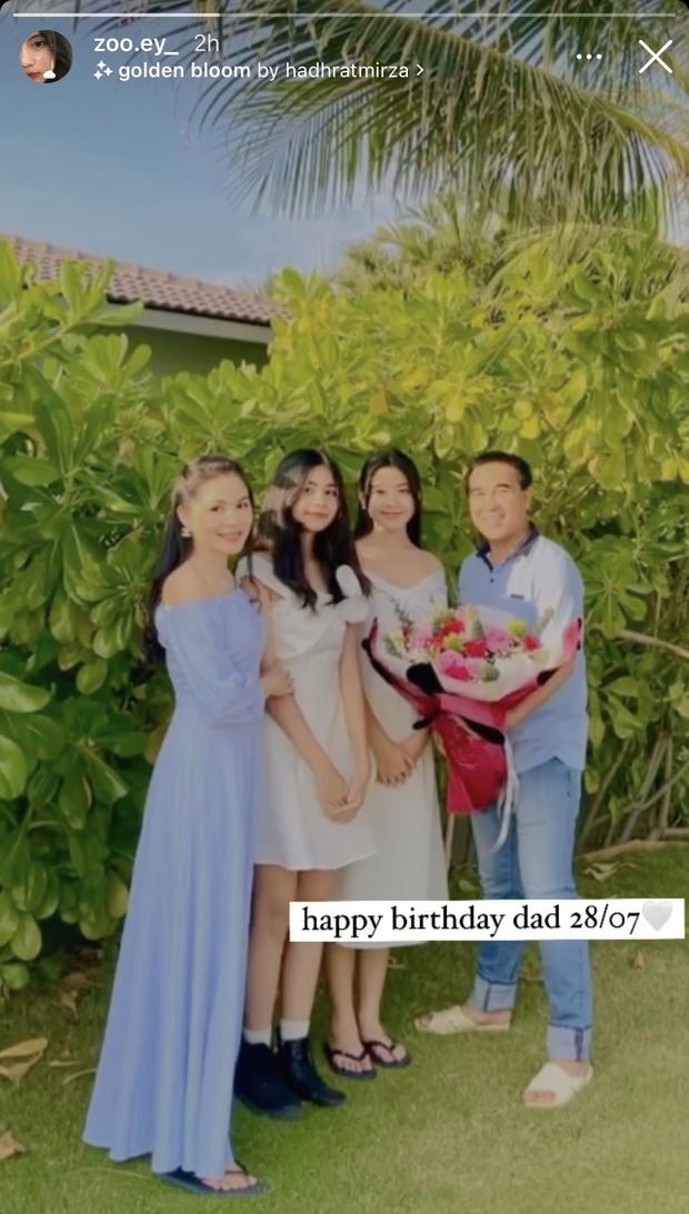 Sinh nhật MC Quyền Linh nhưng 2 ái nữ tuổi trăng tròn chiếm trọn spotlight, nhất là chiều cao chuẩn Hoa hậu - Ảnh 1.