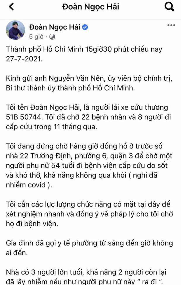TP.HCM: Quận 3 phản bác thông tin ông Đoàn Ngọc Hải phản ánh trên Facebook - Ảnh 1.
