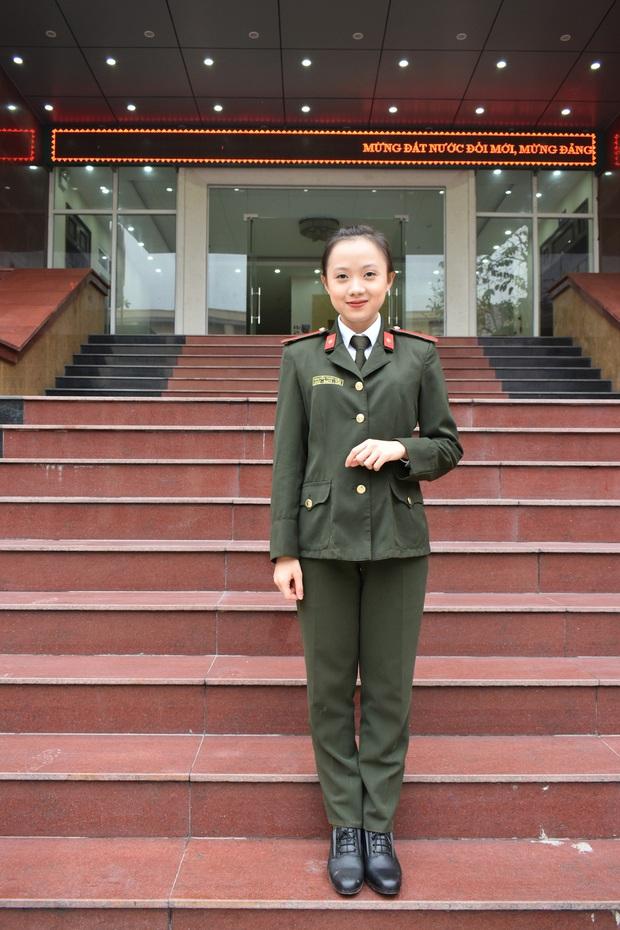Nữ sinh duy nhất của HV Chính trị CAND tốt nghiệp bằng xuất sắc, hé lộ bí mật đằng sau môi trường kỷ luật thép - Ảnh 3.