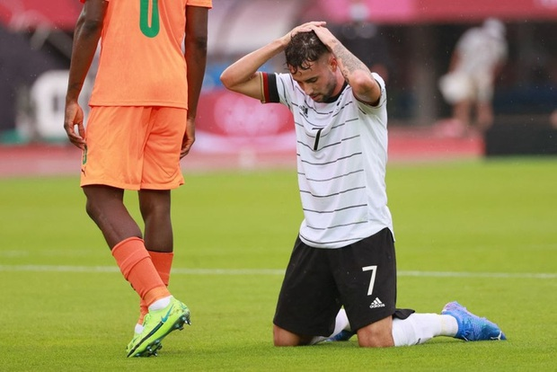 Bị cầm hòa 1-1, đương kim á quân Olympic Đức bị loại khỏi Thế vận hội ngay sau vòng bảng - Ảnh 3.