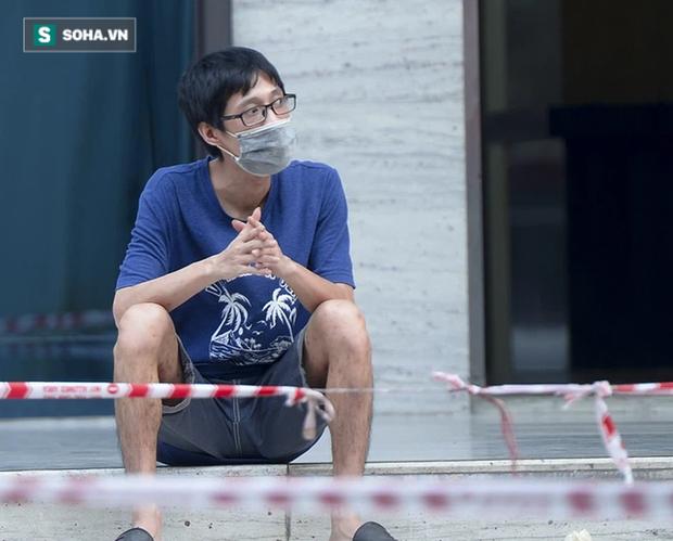 Vào Trung tâm thương mại mua hàng, ra cửa thấy toà nhà bị phong toả khiến nam thanh niên ngỡ ngàng - Ảnh 9.