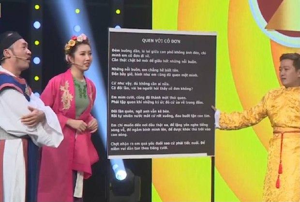Vinh Râu từng không thuộc nhạc của vợ cũ trên sóng truyền hình, đến Trường Giang, Tiến Luật còn cảm thán - Ảnh 3.