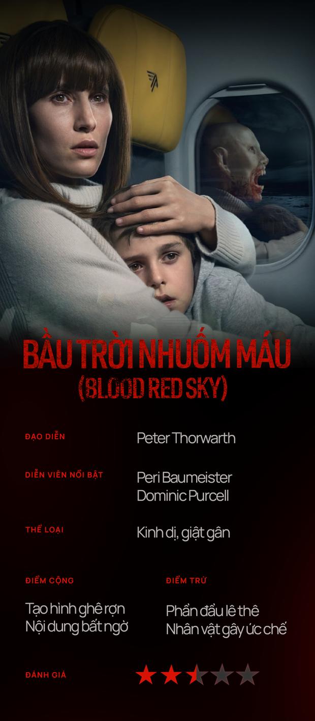 Blood Red Sky: Twist độc đáo nhưng lại hút sạch sức sống của người xem bằng tình mẫu tử gây ức chế - Ảnh 12.
