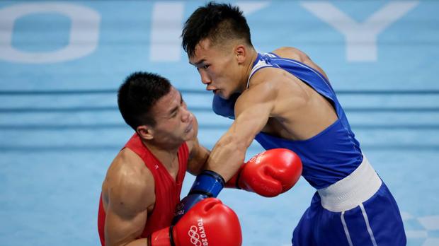 Nguyễn Văn Đương để thua trước nhà vô địch châu Á, chính thức dừng bước tại Olympic 2020 - Ảnh 3.