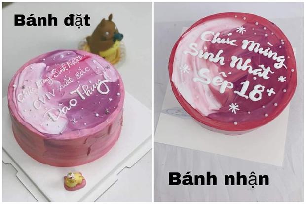 Đặt bánh sinh nhật chính là trò may rủi nhất MXH: Hình minh hoạ một đằng nhưng lúc nào nhận hàng cũng một nẻo?! - Ảnh 7.