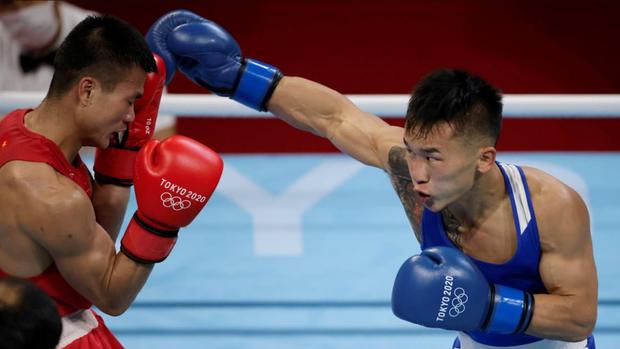Nguyễn Văn Đương để thua trước nhà vô địch châu Á, chính thức dừng bước tại Olympic 2020 - Ảnh 2.