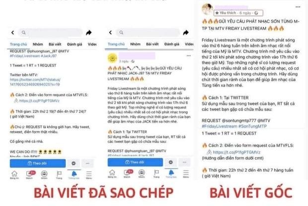 Biến mới: Fan Sơn Tùng M-TP tố fan Jack sao chép ý tưởng giành slot phát nhạc trên MTV quốc tế? - Ảnh 2.