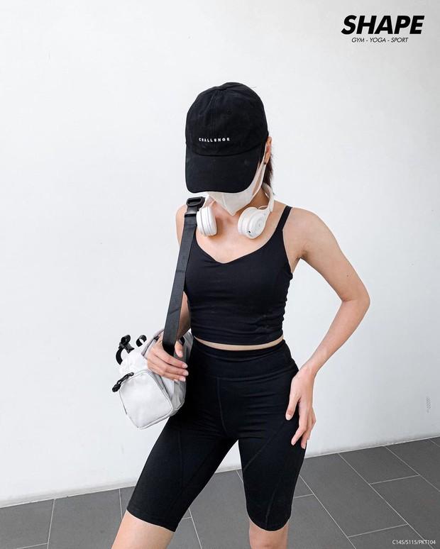 Sports bra của Minh Hằng gần 4 triệu lận, ai thích áo basic giống vậy thì có vài gợi ý chỉ 200k - 300k thôi - Ảnh 9.