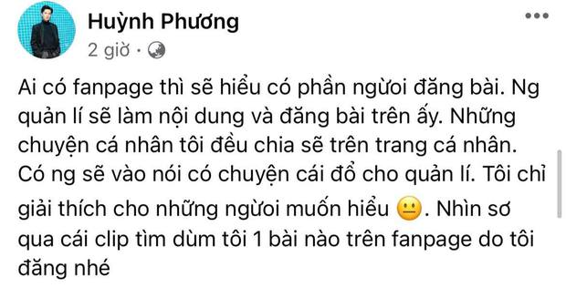 Chưa hết căng: Vinh Râu đáp trả khi bị Lương Minh Trang bóc phốt, Huỳnh Phương vào thừa nhận bạn thân có cái sai rất lớn? - Ảnh 5.