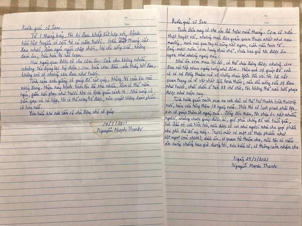 Được hàng xóm giúp đỡ lúc khốn khó, cụ ông viết bức thư tay đầy cảm động: Tình xóm giềng cô giúp đỡ rất quý, không lời cảm ơn nào xứng đáng - Ảnh 1.