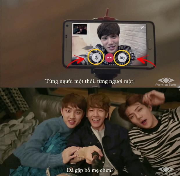 EXO bị netizen đào lại pha Facetime giả trân cực hề hước, fan được dịp cười rụng rốn - Ảnh 2.