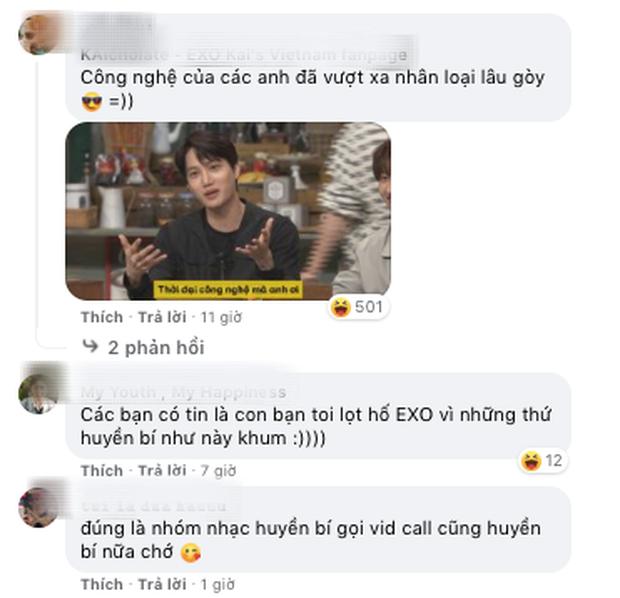 EXO bị netizen đào lại pha Facetime giả trân cực hề hước, fan được dịp cười rụng rốn - Ảnh 3.