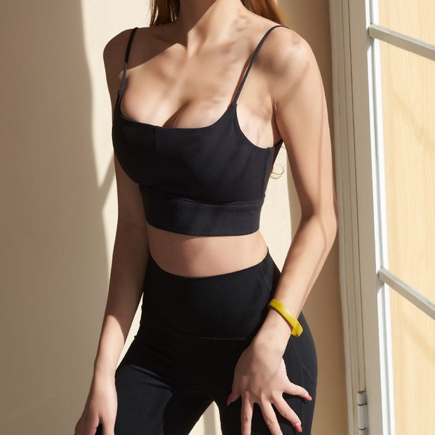 Sports bra của Minh Hằng gần 4 triệu lận, ai thích áo basic giống vậy thì có vài gợi ý chỉ 200k - 300k thôi - Ảnh 7.