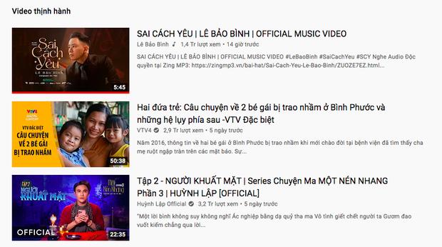 Nam ca sĩ Vpop âm thầm ra MV lập tức bay thẳng lên #1 trending, một mình độc chiếm top thịnh hành YouTube - Ảnh 2.