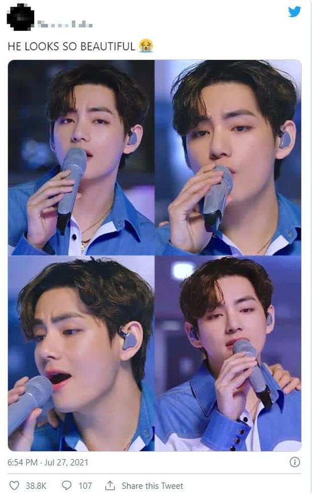 V và Jungkook (BTS) chiếm trọn spotlight trên sân khấu mới nhất: giọng hát cực phẩm, visual cũng cực mlem - Ảnh 15.