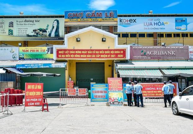 KHẨN: Đà Nẵng tìm người đến chợ tạm Hóa Sơn vừa phát hiện tiểu thương bán cá nhiễm Covid-19 - Ảnh 2.