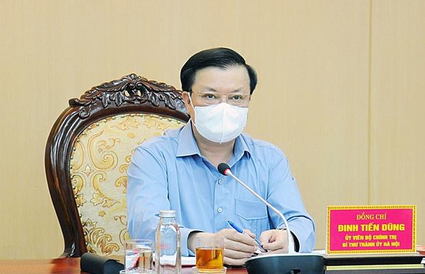 Bí thư Hà Nội: Giãn cách xã hội phải quyết liệt như mệnh lệnh thời chiến - Ảnh 1.
