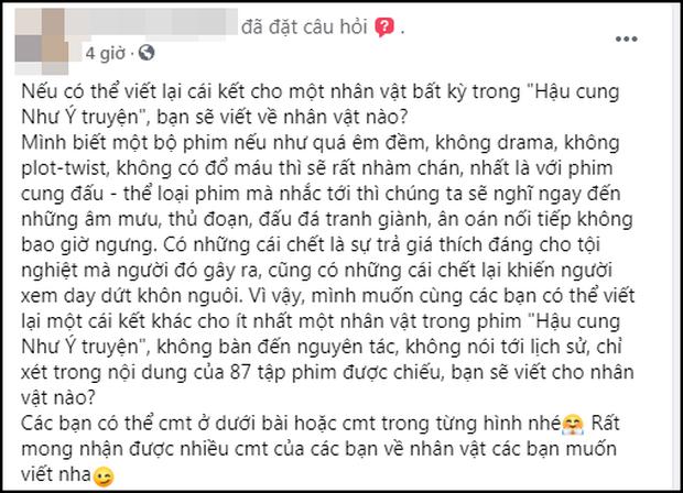 Fan Việt thi nhau viết 101 cái kết mới cho Như Ý Truyện: Như Ý bay lên cung trăng, Càn Long đóng đam mỹ luôn cho máu? - Ảnh 1.
