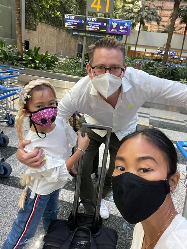 Đoan Trang hội ngộ gia đình Hoàng Oanh, lần đầu hé lộ nhiều ngóc ngách trong căn penthouse xịn sò tại Singapore - Ảnh 9.