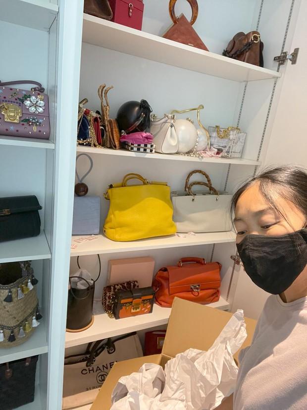 Đoan Trang hội ngộ gia đình Hoàng Oanh, lần đầu hé lộ nhiều ngóc ngách trong căn penthouse xịn sò tại Singapore - Ảnh 7.