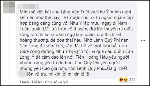 Fan Việt thi nhau viết 101 cái kết mới cho Như Ý Truyện: Như Ý bay lên cung trăng, Càn Long đóng đam mỹ luôn cho máu? - Ảnh 13.