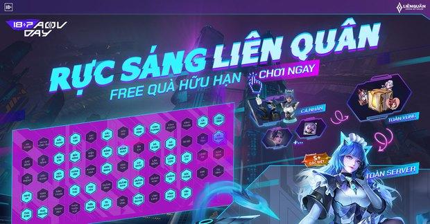 HOT: Game thủ nhận FREE 2 skin bậc S+ miễn phí từ sự kiện mới nhất của Liên Quân Mobile! - Ảnh 2.