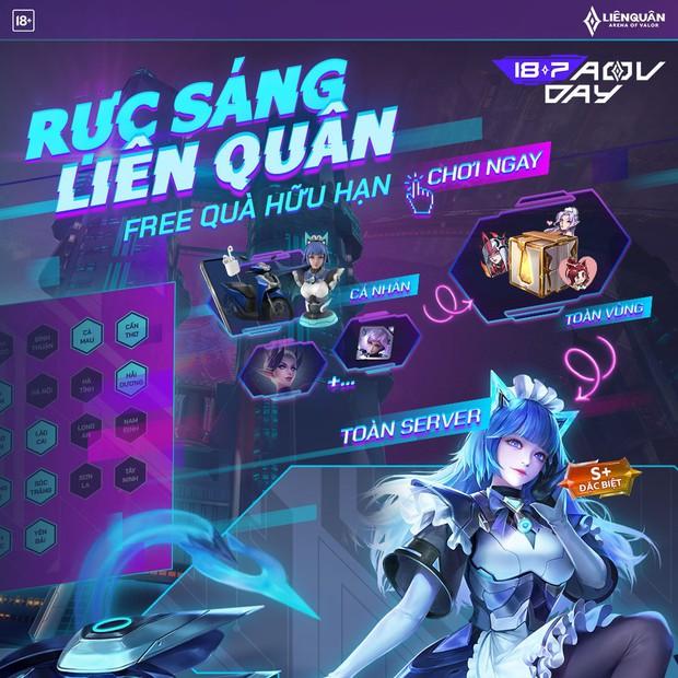 HOT: Game thủ nhận FREE 2 skin bậc S+ miễn phí từ sự kiện mới nhất của Liên Quân Mobile! - Ảnh 7.