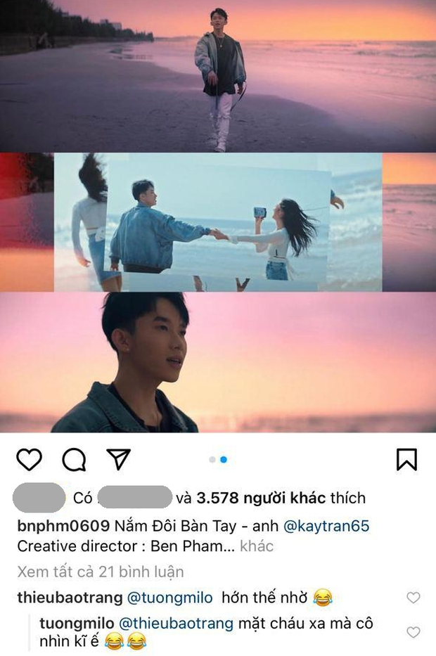 Bất ngờ chưa: Netizen bắt gặp chị gái Thiều Bảo Trâm comment dạo dưới MV của gà nhà Sơn Tùng M-TP - Ảnh 2.