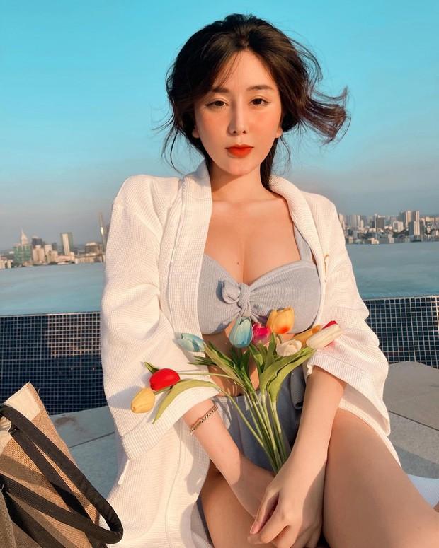 Nữ thần học đường một thời khoe body cực cháy, netizen lại soi ra gương mặt hình như hơi khác?  - Ảnh 1.