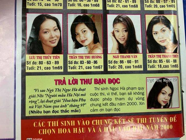 Ảnh Hà Hồ 20 năm trước thời thi Hoa hậu nhưng bị loại trước chung kết, vướng nghi án dao kéo vì khác quá khác bây giờ - Ảnh 4.