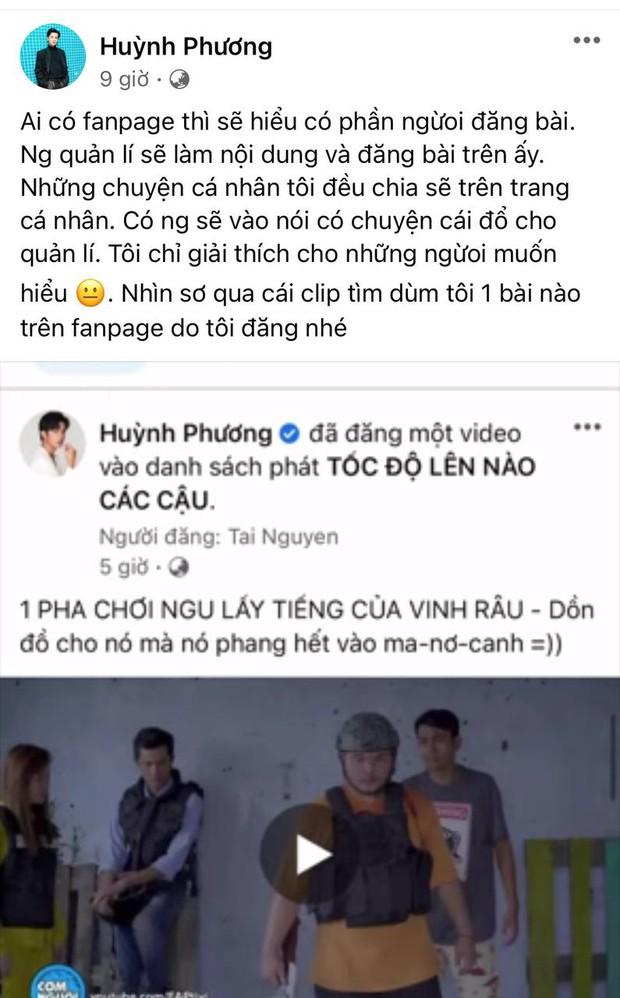 Huỳnh Phương lên tiếng về việc đăng ảnh bênh Vinh Râu, cà khịa Lương Minh Trang vì đăng nhiều story - Ảnh 3.