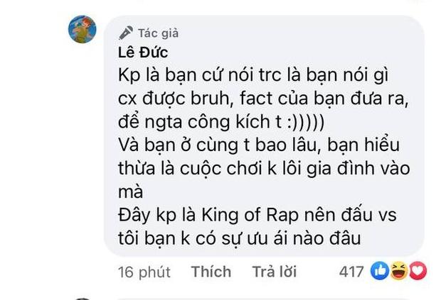 ICD nhắc tên RichChoi trong bản rap diss nhưng bị đáp trả: Cuộc chơi đừng lôi gia đình vào - Ảnh 5.