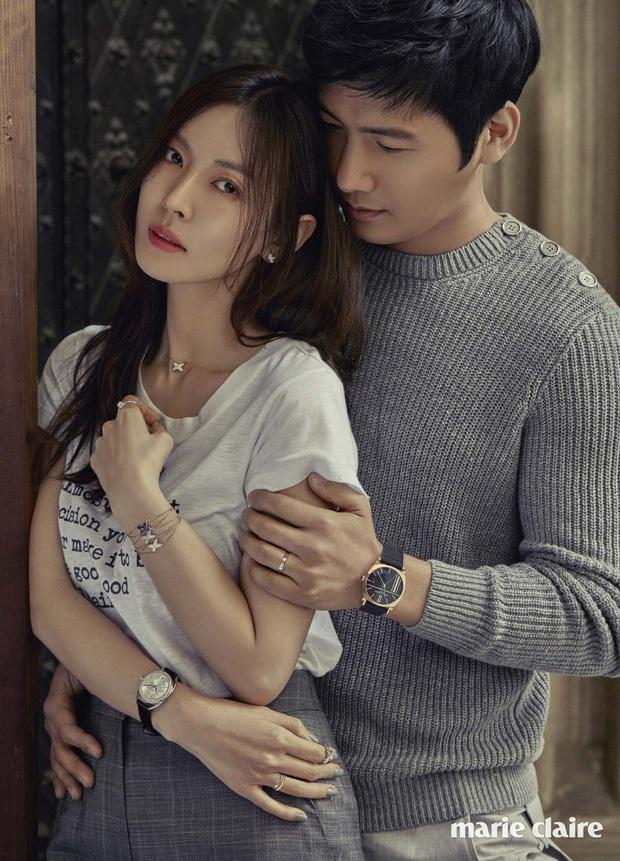 Đi đường bỗng thấy ảnh bà xã Kim So Yeon trên poster Penthouse, tài tử Lee Sang Woo làm gì mà bị gắn mác nghiện vợ thế này? - Ảnh 3.