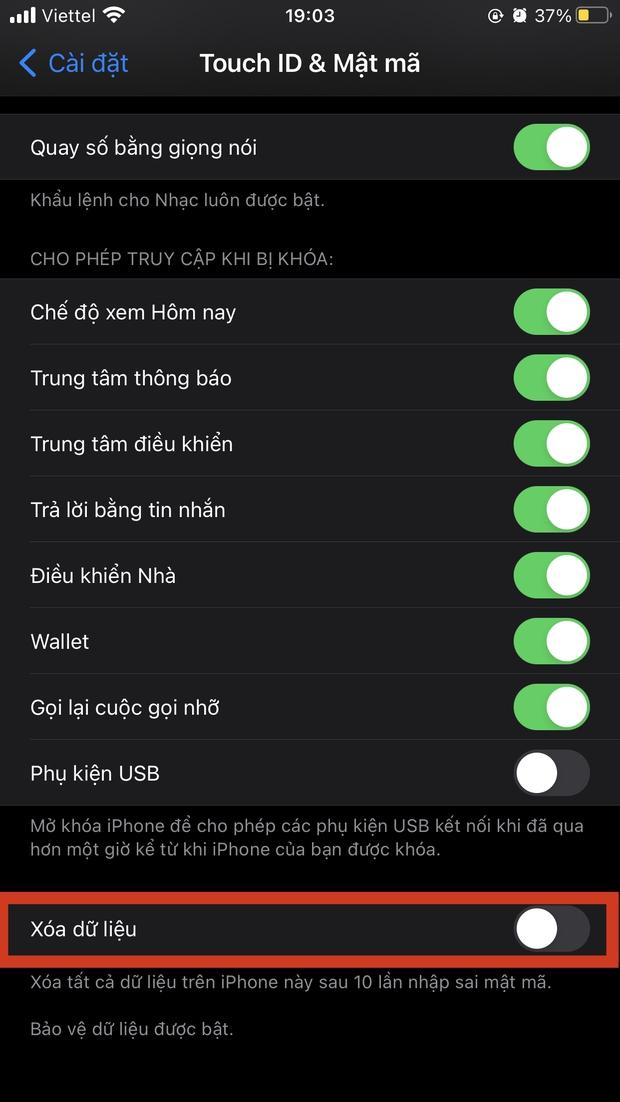 3 bước cài đặt siêu đơn giản trên iPhone giúp tăng khả năng bảo mật, hạn chế nỗi lo lộ thông tin nhạy cảm - Ảnh 2.