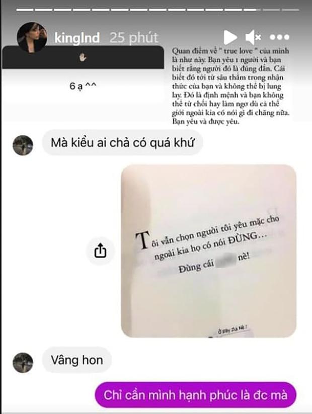 Sau 3 ngày rộ tin bồ cũ thiếu gia hẹn hò em 2k4, Linh Ngọc Đàm cũng ngầm thông báo có tình mới? - Ảnh 4.